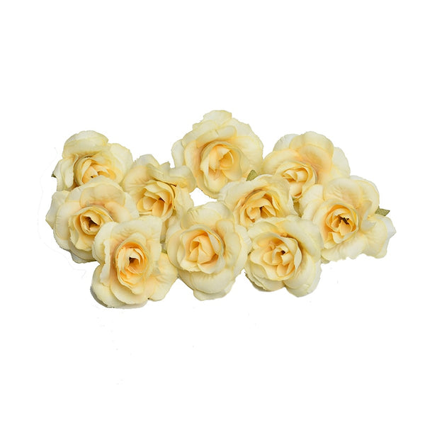 10 Pc. Artificial Silk Rose Flower -  100001826 - ShaadiMagic