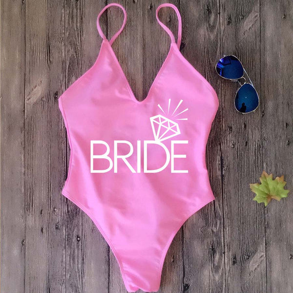 Bride & Team Bride Wedding Monokini -  200000598 - ShaadiMagic