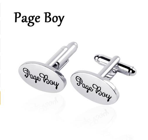 Silver Oval Cuff-links -  [product_type] - ShaadiMagic