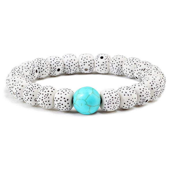 Star Moon Stone Beaded Bracelet -  200000147 - ShaadiMagic