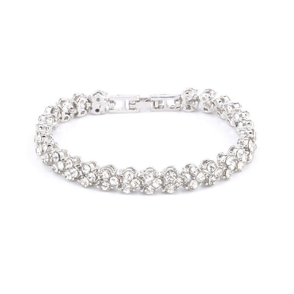 Charming Crystal Tennis Bracelet -  200000146 - ShaadiMagic