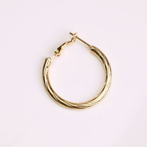 Trendy Round Small Hoop Earring -  200000170 - ShaadiMagic
