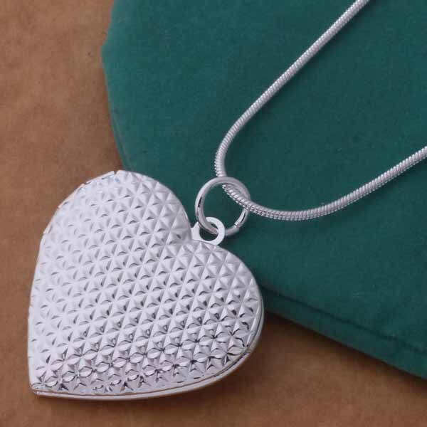 Charm Locket Necklace Heart Photo Frame -  200000162 - ShaadiMagic