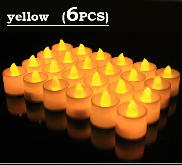 Led candle lamp multi-color