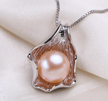 925 Sterling Silver Pearl Necklace -  [product_type] - ShaadiMagic