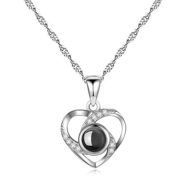Silver Heart of love -  [product_type] - ShaadiMagic