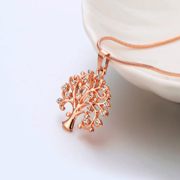 Tree Of Life Crystal Pendant Necklace -  [product_type] - ShaadiMagic