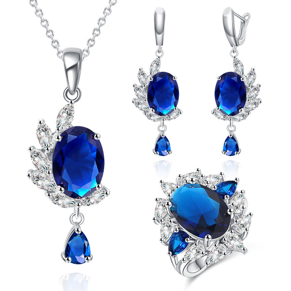 Necklace Earrings Jewelry Set -  [product_type] - ShaadiMagic