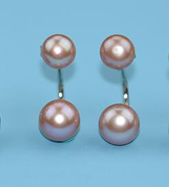925 Sterling Silver Natural Pearl Earrings -  [product_type] - ShaadiMagic