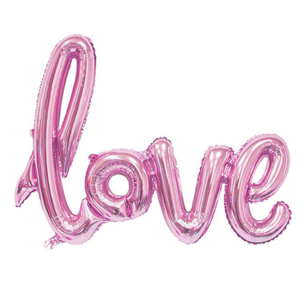 LOVE Letter Foil Balloon -  [product_type] - ShaadiMagic