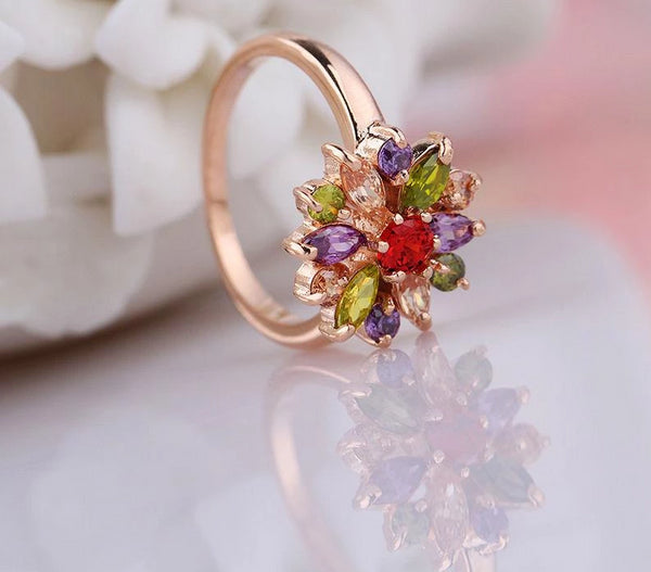 Multi Color Ring for Women -  [product_type] - ShaadiMagic