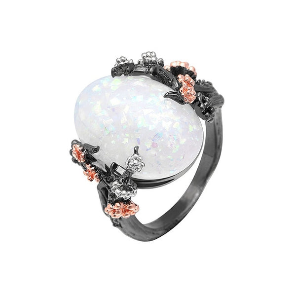 Beautiful Tree & Flower Ring -  [product_type] - ShaadiMagic