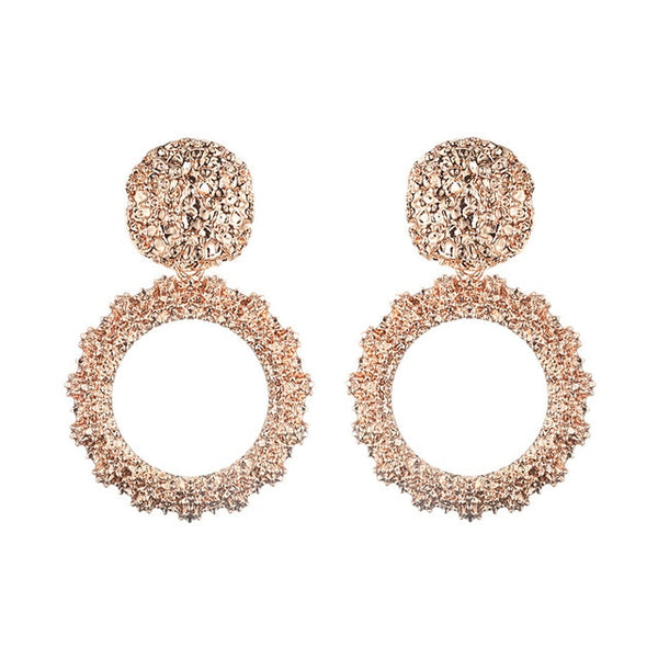 Big Vintage Stylish Earrings -  [product_type] - ShaadiMagic