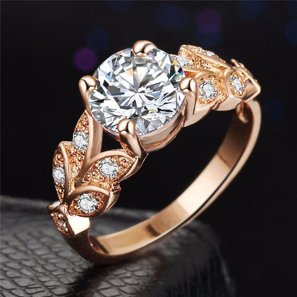 Crystal Cubic Zirconia Ring -  [product_type] - ShaadiMagic