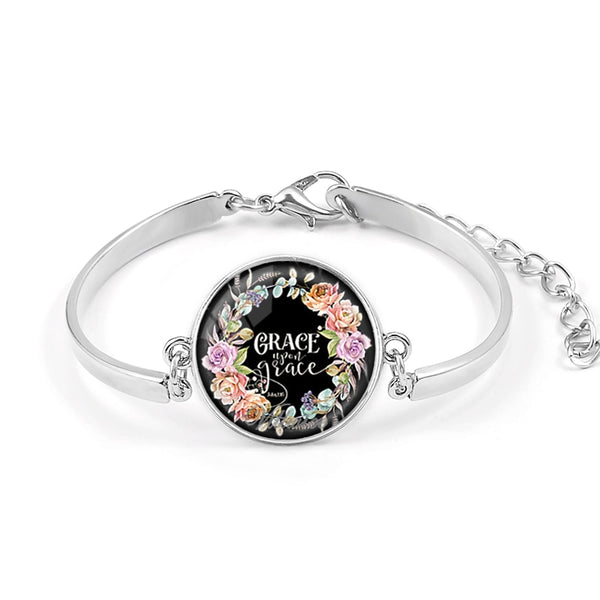 Bracelet Art Glass Dome Charms -  [product_type] - ShaadiMagic