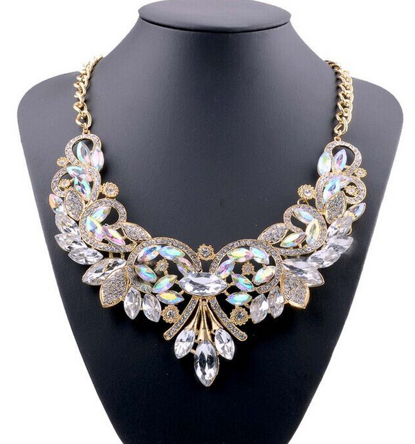 Flower Fashion Pendant Necklace -  [product_type] - ShaadiMagic