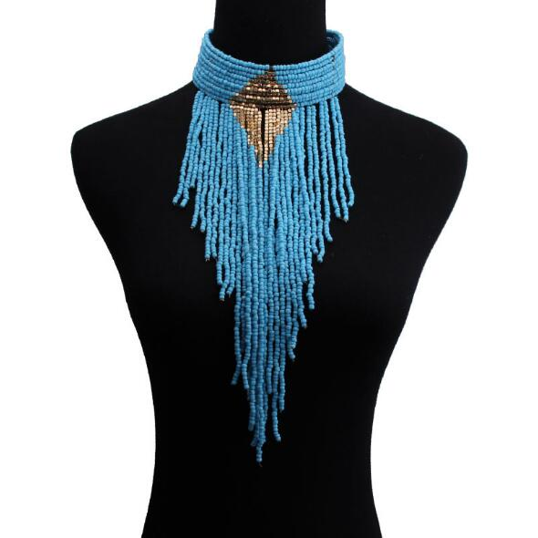 Bohemia Handmade Resin Beads Necklace -  [product_type] - ShaadiMagic