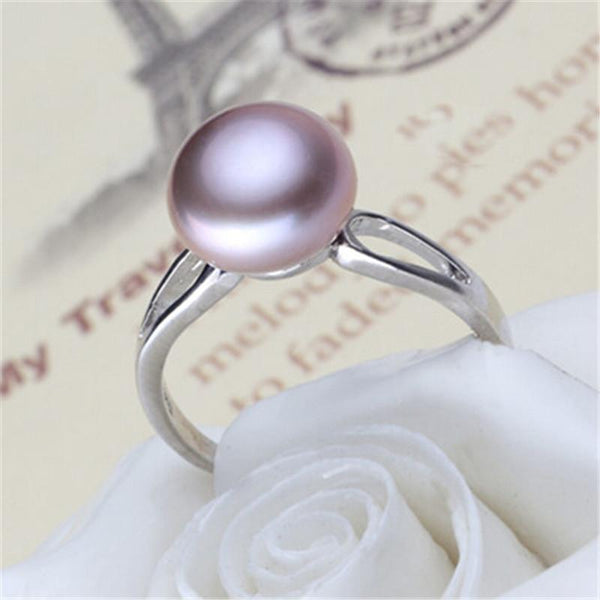 Pearl 925 Sterling Silver Ring -  [product_type] - ShaadiMagic