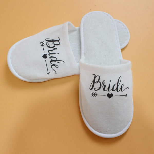 1 Pair Bridal Shower Soft Slippers