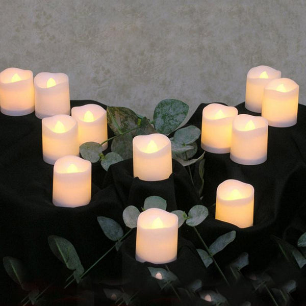 Flickering Tea Candle Light Wedding Decor -  200003681 - ShaadiMagic