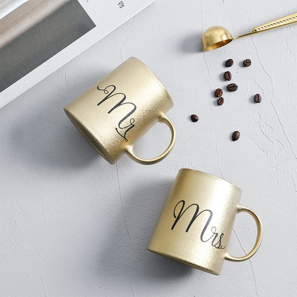 Golden Coffee Mug