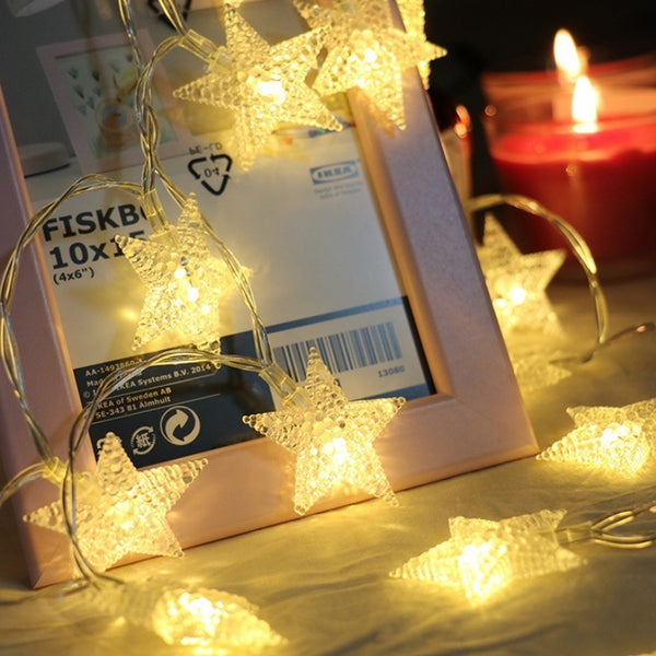Star LED Light String Twinkle Garlands -  150403 - ShaadiMagic