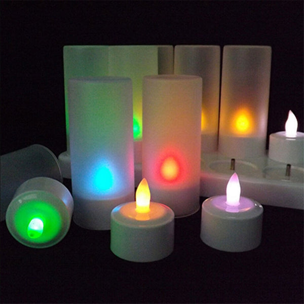 12 Pc. Flameless Remote Controlled Candles