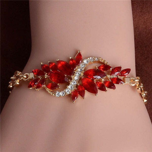 Austrian Crystal Colorful Bracelets -  200000147 - ShaadiMagic