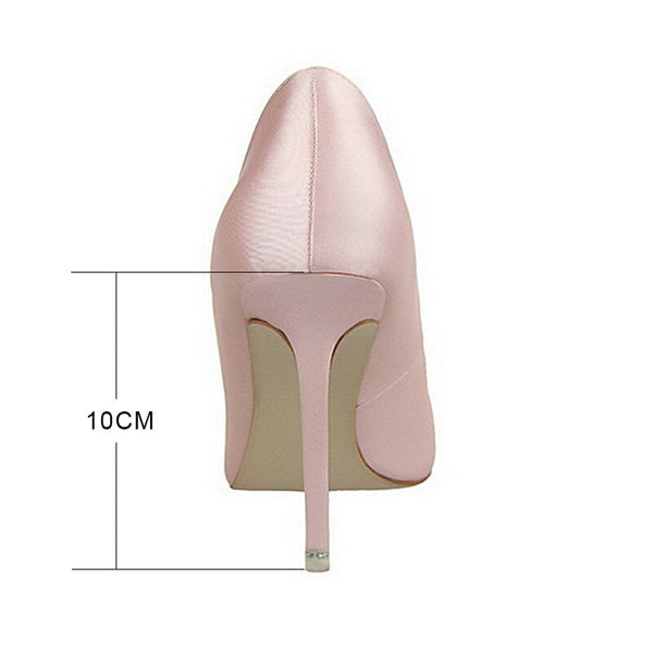 Crystal Fashion Pointed Toe High Heels -  200001012 - ShaadiMagic