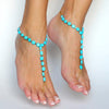 Natural Blue Stone Anklet