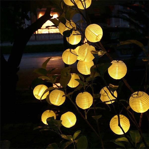 Lantern Ball Solar Led String Fairy Light -  200001714 - ShaadiMagic