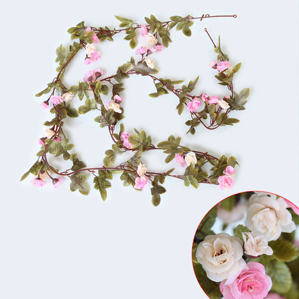 Silk Roses Ivy Vine Artificial Flowers -  200220143 - ShaadiMagic