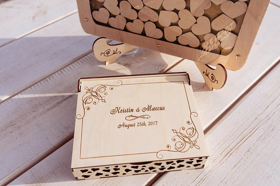 Personalised Wedding Guest book Drop box -  200254144 - ShaadiMagic