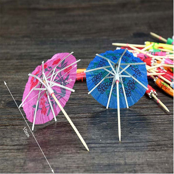 50 Pc. Bachelorette Glass Umbrella -  200220143 - ShaadiMagic