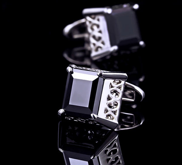 Brand Cuff Black Button Vintage -  200000175 - ShaadiMagic