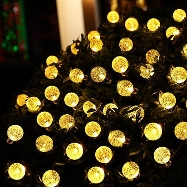 LED Crystal Ball String Light Waterproof -  150403 - ShaadiMagic