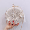 Tassel Metal Embroidery Wedding Purse