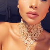 Choker Statement Necklace Crystal Rhinestone