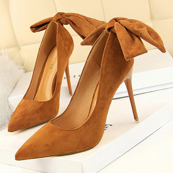 Classic Pumps Suede Spring Ankle Shoes -  200001012 - ShaadiMagic