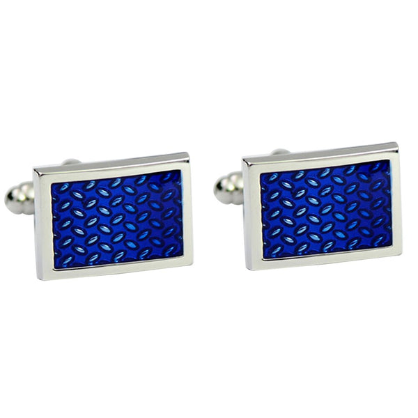 Vagula New Blue Painting Cufflinks Luxury Cuff links Wedding Men's cufflinks French Shirt Cuff link 278b -  200000175 - ShaadiMagic