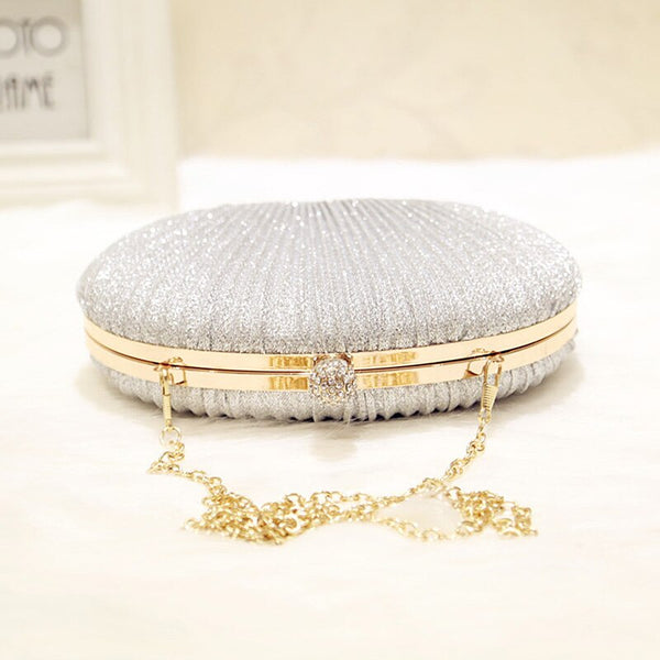 Evening Shiny Party Clutch Bag -  100002856 - ShaadiMagic