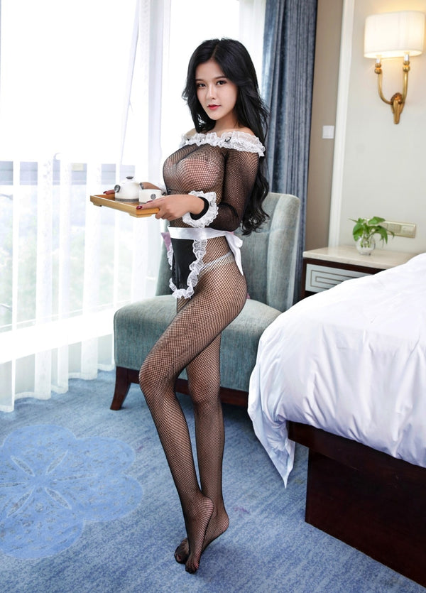 Hot Sexy Maid Uniform Costume -  200003986 - ShaadiMagic