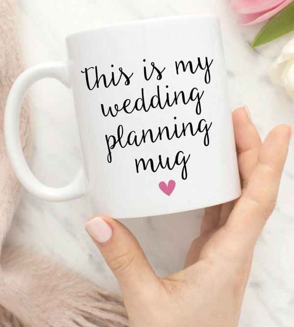 This Is My Wedding Planning Mug -  100003290 - ShaadiMagic
