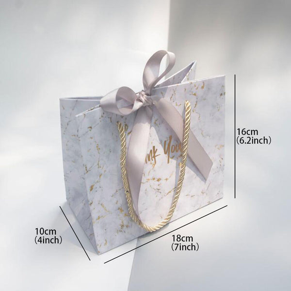 10 Pc. Marble European Style Gift Bag -  200223144 - ShaadiMagic