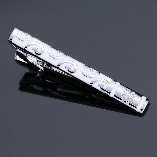 High-quality Enamel Men's Wedding Tie Clip -  200000175 - ShaadiMagic