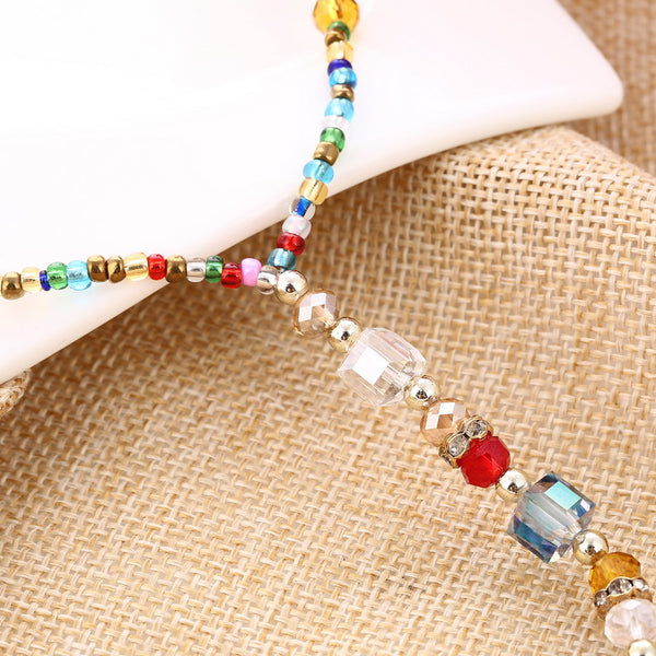 Colorful Beads Anklet Bracelets -  200000141 - ShaadiMagic