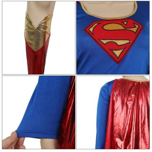 Superwoman Cosplay Costume -  200003989 - ShaadiMagic
