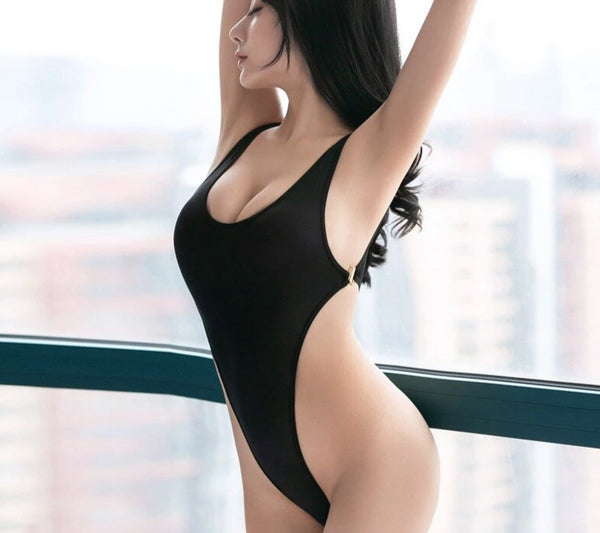 Sexy High Cut Erotic Bodysuit -  200001800 - ShaadiMagic