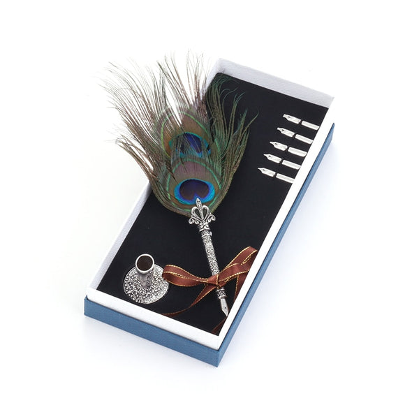 Vintage Quill Fountain Pen With Gift Box -  21110702 - ShaadiMagic