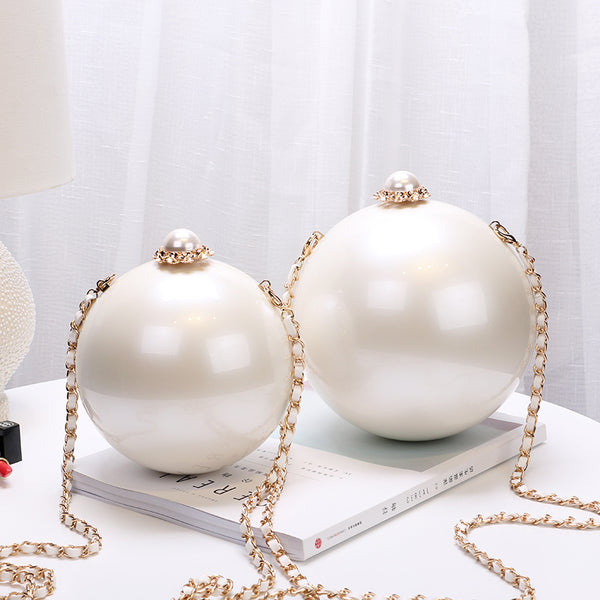 Pearl Ball Evening Party Bag -  100002856 - ShaadiMagic